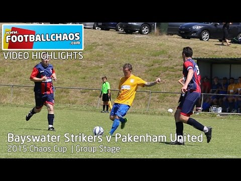 2015 Chaos Cup - Bayswater Strikers v Pakenham United