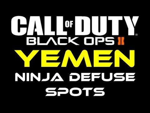 Black Ops 2 - Yemen Ninja Defuse Spots / Tutorial by Product Shard