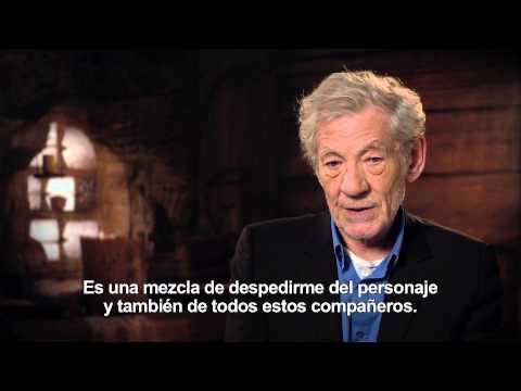 El Hobbit: La Batalla de los Cinco Ejércitos - Entrevista Ian McKellen