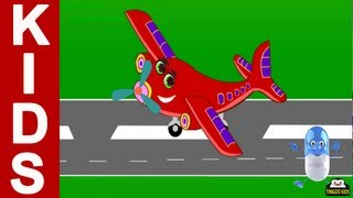 I Am Little Airplane | Kids Songs & Nursery Rhymes With Lyrics (English Language) HD