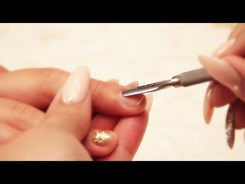 Acrylic or Gel Prep On Natural Nail