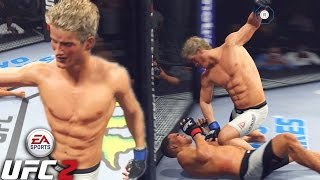 Sage Northcutt Is An ANIMAL! The Stats Lied! EA Sports UFC 2 Online Gameplay