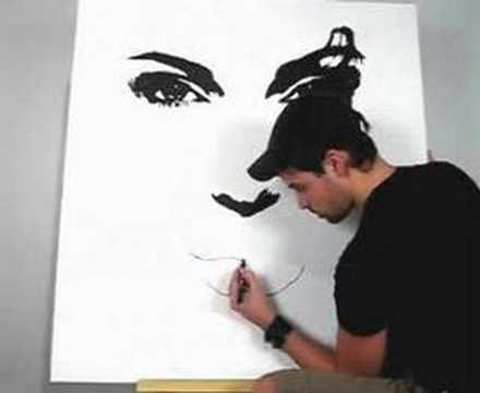 Sn - Paint Angelina Jolie