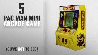 Top 10 Pac Man Mini Arcade Game [2018]: Arcade Classics - Pac-Man Retro Mini Arcade Game