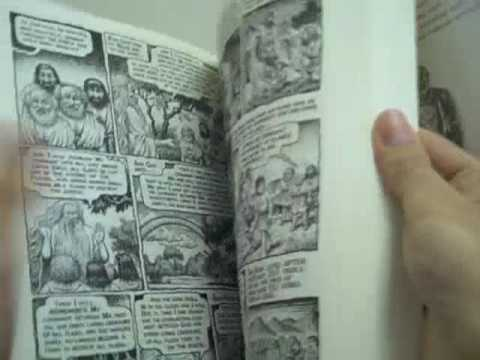 Flipping Through The Book of Genesis Illustrated by R. Crumb