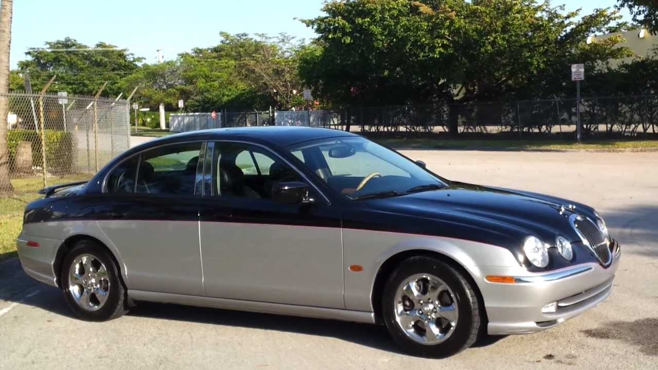 2002 Jaguar S Type R >> FOR SALE 2002 Jaguar S-Type 3.0 Sedan Custom Paint Black ...
