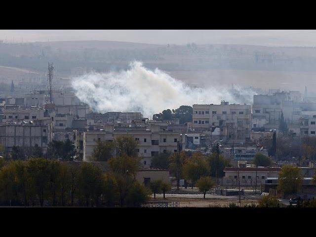 Kobani remains under fire - no comment
