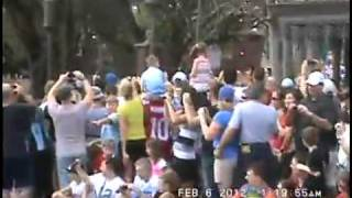 Eli Manning Super Bowl MVP Parade at Disney World