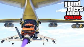 GTA 5: Online - Stunts & Custom Game Modes (Funny Moments & Fails)
