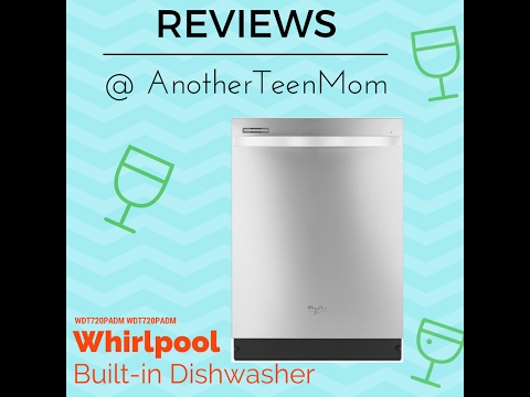 Whirlpool WDT720PADM Built-in Stainless Dishwasher Installation & Review