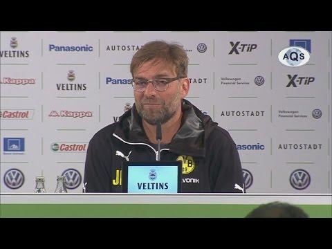 Pressekonferenz: Jürgen Klopp nach der Niederlage beim VfL Wolfsburg (1:2) | BVB total!