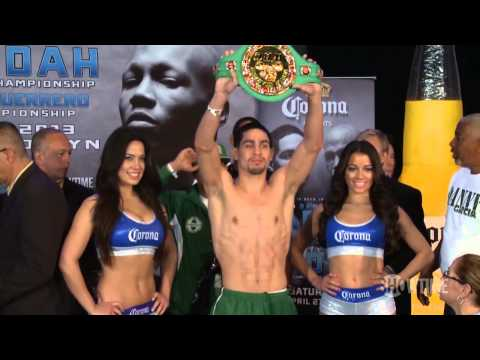 Weigh In Recap: Garcia vs. Judah - SHOWTIME Boxing