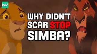 Why Didn't Scar Stop Simba Himself? | Lion King Theory: Discovering Disney