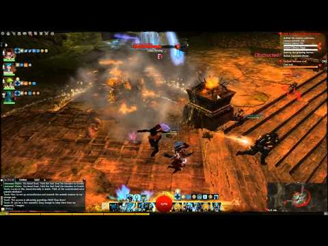 Guild Wars 2 Dungeon Tank Guardian in Ascalonian Catacombs