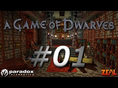 Let's Play A Game of Dwarves #01 - Die Prüfung (Deutsch HD)