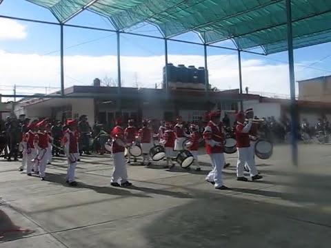Banda de la Gabino Barreda: Presentación en la Escuela Calmecac