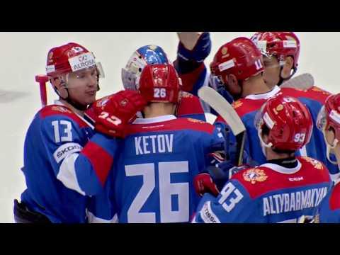 Олимпийская сборная России 3:2 Сборная Канады: Лучшие моменты / Team Russia 3:2 Team Canada