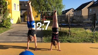 EXTREM ABC Turn Challenge Jule vs. Haley 😈 ALPHABET Gymnastics 💗 Haley's Turnwelt 💗