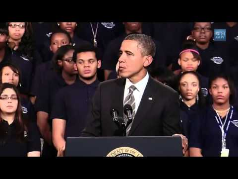 Video : President Obama Speaks on Strengthening the Economy for the Middle Class in Chicago
