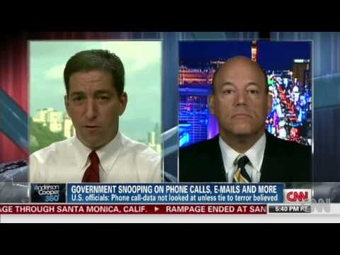 Glenn Greenwald Vs Bush Press Sec. Ari Fleischer Over NSA's PRISM