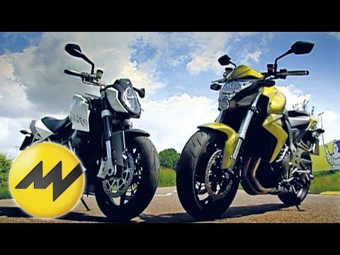 Honda CB 1000R vs. KTM Super Duke Vergleich der nackten Spor