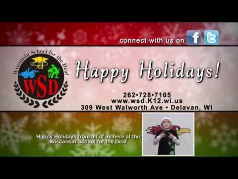 Fox47 Presents - Wisconsin School for the Deaf (HolidayWish V2)