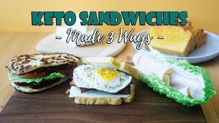 Our Three Favorite Keto Sandwich Recipes | Pro Tip: Use Cheese Instead of Bread