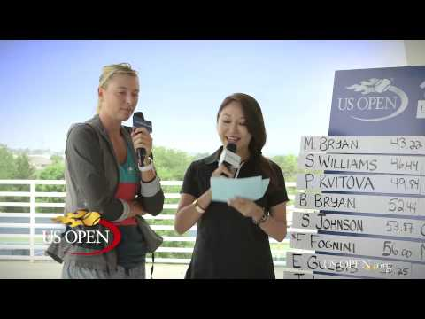 Maria Sharapova in 15 Love US Open 2014
