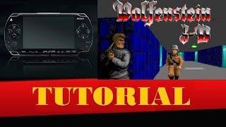 Wolfenstein 3D no seu PSP