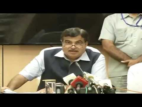 Press Conference by Shri Nitin Gadkari on General Budget 2014 -  10th July 2014