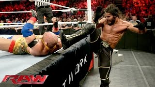 Ryback vs. Seth Rollins - Champion vs. Champion Match: Raw, Sept. 7, 2015
