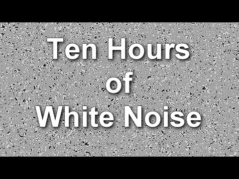 Ten Hours of Ambient White Noise. Buy MP3 Ambient Noise Downloads http://electriccanyon.com/audio $1.50 White noise is randomly generated full spectrum sound...