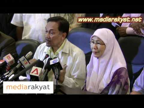 Anwar Ibrahim: Press Conference On Alleged Sex Video 21/03/2011 (Part 2)