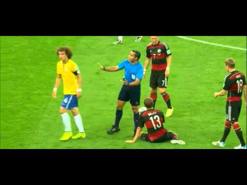 David Luiz vs Germany