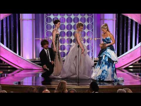 Peter Dinklage Wins Best Supporting Actor TV Series - Golden Globes 2012