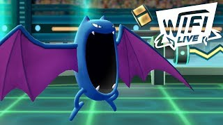 Pokemon Let's Go Pikachu & Eevee Wi-Fi Battle: Golbat Bares Its Fangs! (1080p)