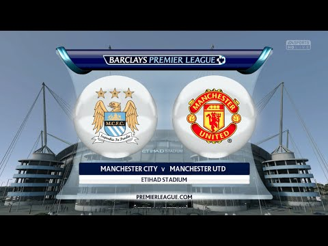 "FIFA 16 - Manchester City vs. Manchester United ""Manchester Derby"" @ Etihad Stadium"