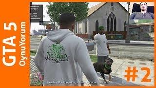 GTA 5 OynuYorum - 2. Bölüm - Köpeğimiz Chop Farklı İşler Peşinde
