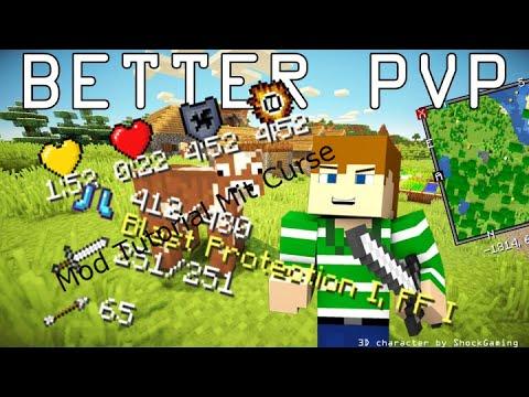 Minecraft Better PvP mod Deutsch/german
