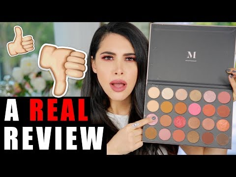 OMG!! NEW MORPHE 24G PALETTE REVIEW. PALETTE TUTORIAL. & SWATCHES   GRAND GLAM