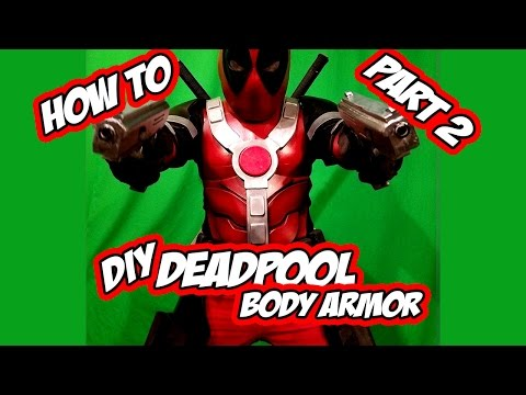 Deadpool How to DiY Body armor part 2 cosplay costume