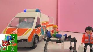 لعبة تركيب عربة الإسعاف - المريض يجب أن يذهب للمستشفى