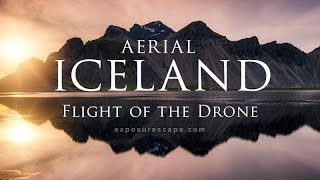 Aerial ICELAND: Flight of the Drone — Islande vue du Ciel