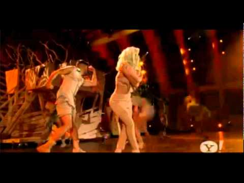 Lady Gaga- The Edge Of Glory-Bill Clinton Foundation Concert Music Videos