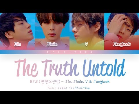 Download Lagu BTS (방탄소년단) - Undelivered Truth (전하지 못한 진심) (Feat. Steve Aoki)  (Color Coded Lyrics Han/Rom/Eng)