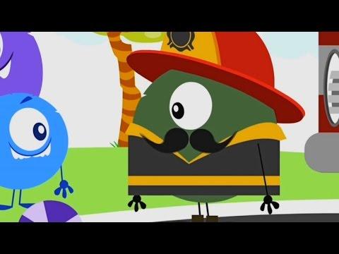 Твой друг Бобби - Пожарный - мультфильмы детям - серия 62