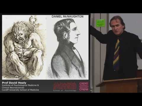 David Healy - Hearts and Minds: Psychotropic Drugs and Violence