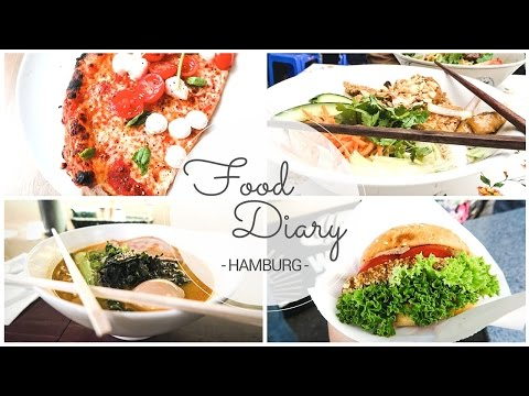 HAMBURG FOOD DIARY - Burger & Pizza meet Asia Edition