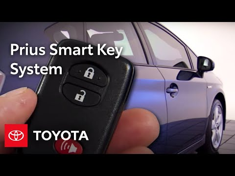 2010 Prius: Smart Key System Overview
