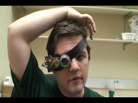 Steampunk Monacle project